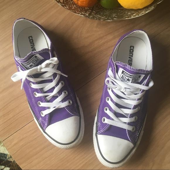 134587047c10 Converse Shoes - Purple Chuck Taylor All-Stars